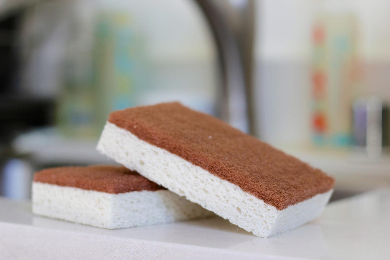 Scrubber Sponge Natural Plant Based Dish Sponge The